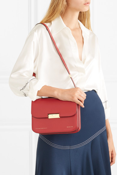 Victoria Beckham | Eva leather shoulder bag | NET-A-PORTER.COM