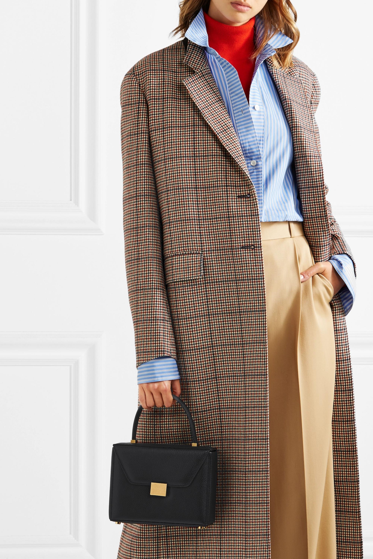 Victoria Beckham Vanity textured-leather tote