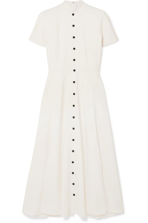 Emilia Wickstead Camila wool-crepe midi dress
