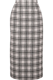Antonio Berardi Checked tweed pencil skirt