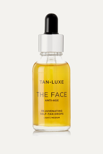 TAN-LUXE The Face Anti-Age Rejuvenating Self-Tan Drops - Light/Medium, 30Ml in Colorless