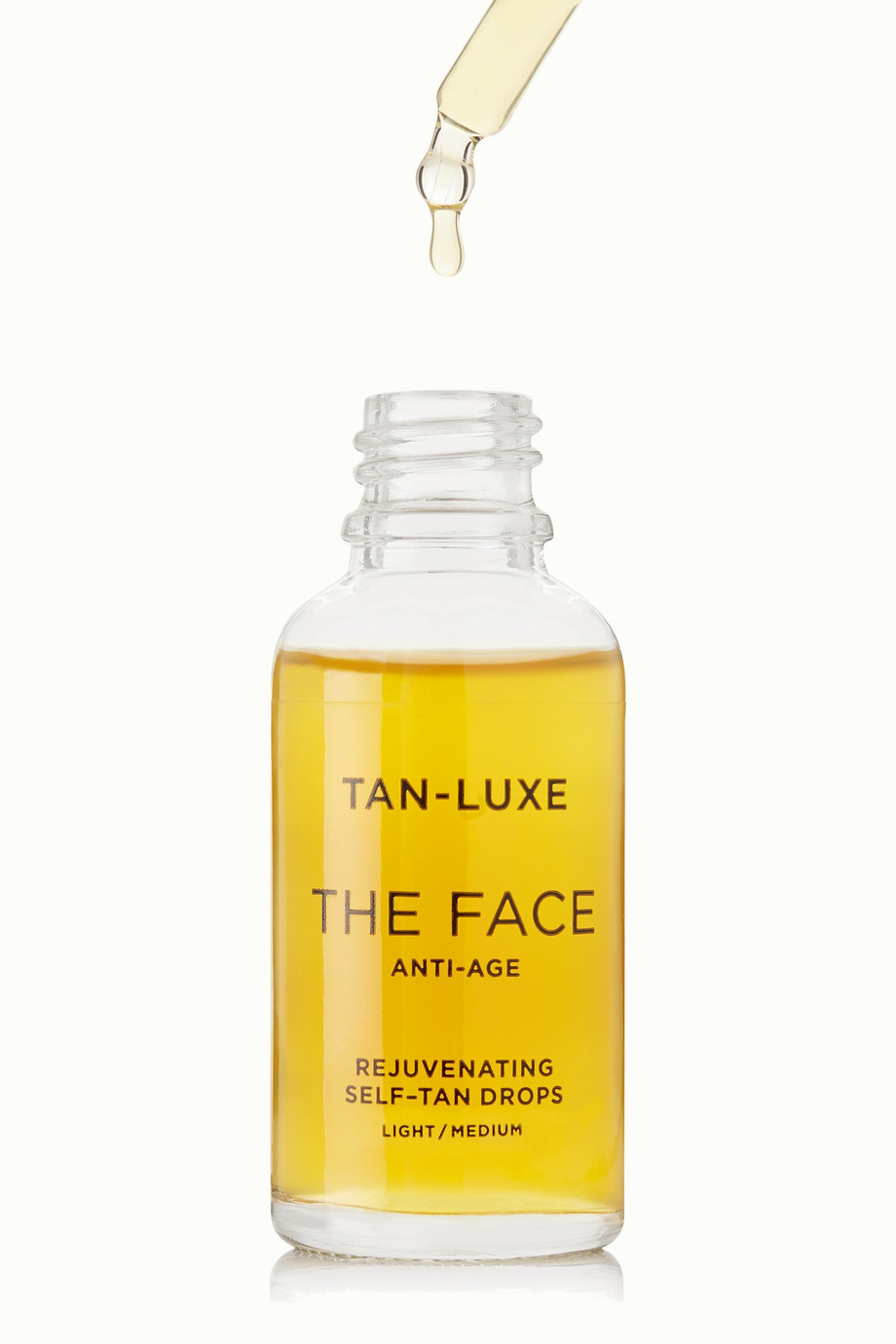 TAN-LUXE The Face Anti-Age Rejuvenating Self-Tan Drops - Light/Medium, 30ml