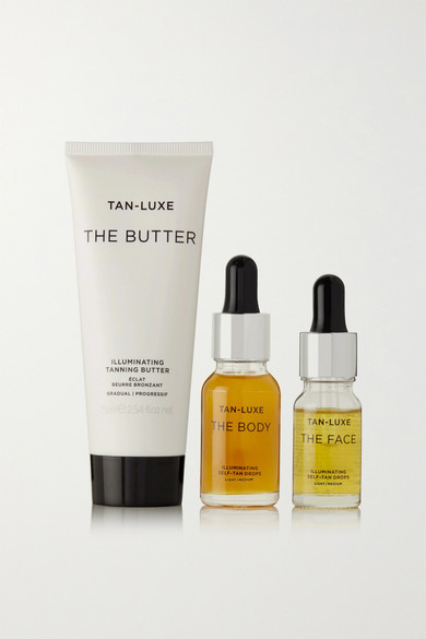 The Tailor-Made Tan Set - Light/Medium in Colorless