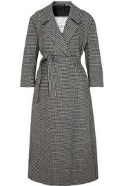 Giuliva Heritage Collection Linda belted houndstooth wool coat