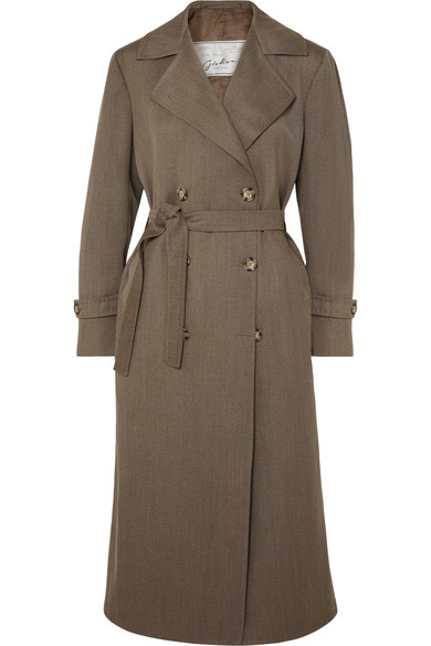 Christie Wool Trench Coat by Giuliva Heritage Collection
