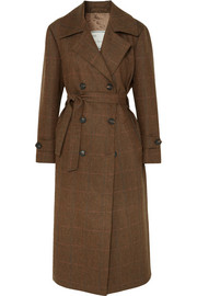 Giuliva Heritage Collection Trench-coat en laine à carreaux Christie