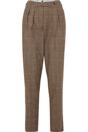 Giuliva Heritage Collection Husband herringbone merino wool tapered pants