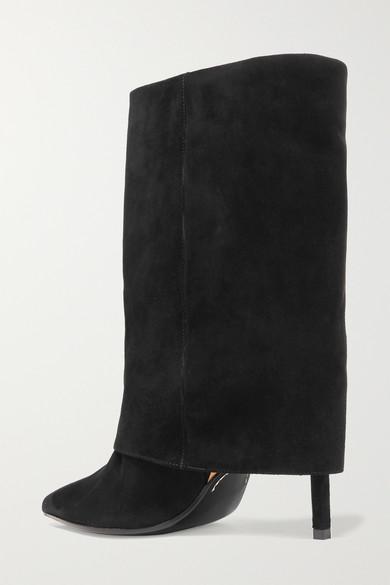 Balmain | Ankle Boots Boots Ankle aus Veloursleder 2fc2b1