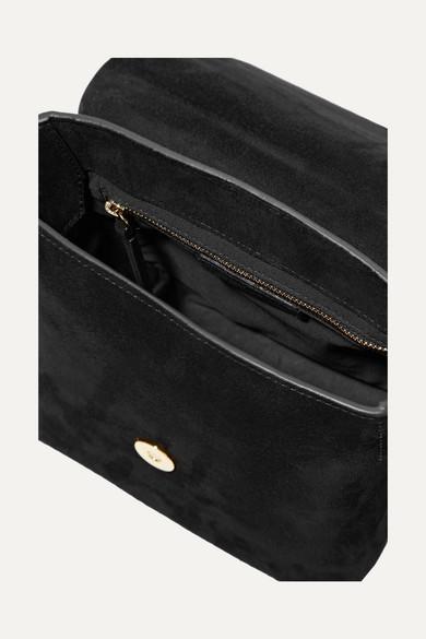 58fd9b298d Isabel Marant. Kleny embellished leather and suede shoulder bag. £450. Zoom  In