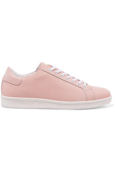 SELF LOVE LIMITED EDITION Z Shoes Leather Sneakers in Pink