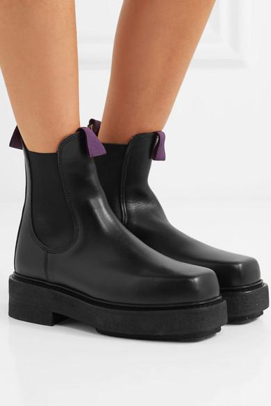 later terrific value official supplier Eytys   Ortega leather platform boots   NET-A-PORTER.COM