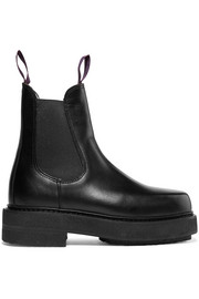 Eytys Ortega leather platform boots