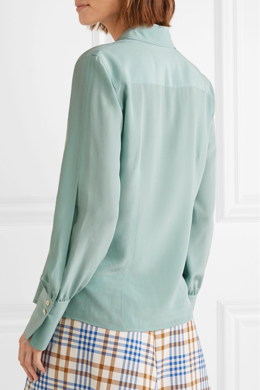 Victoria Beckham Silk crepe de chine shirt