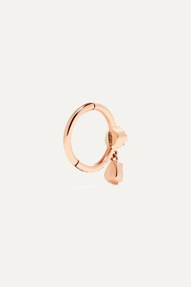 Pascale Monvoisin Lara 9-karat Rose Gold Diamond Earring LPoiA
