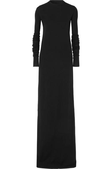 Rick Owens - Cotton-jersey Maxi Dress - Black
