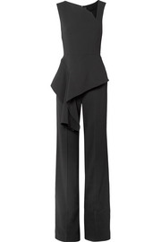 Keene draped crepe jumpsuit
