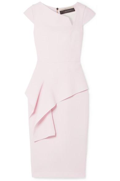 Dandridge Wool Crepe Dress by Roland Mouret