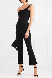 Goswell cropped crepe slim-leg pants