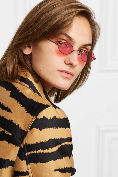 77e02f7370 Roberi   Fraud. Doris round-frame metal sunglasses.  250. Zoom In