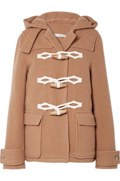 Hooded wool duffle coat from NET-A-PORTER