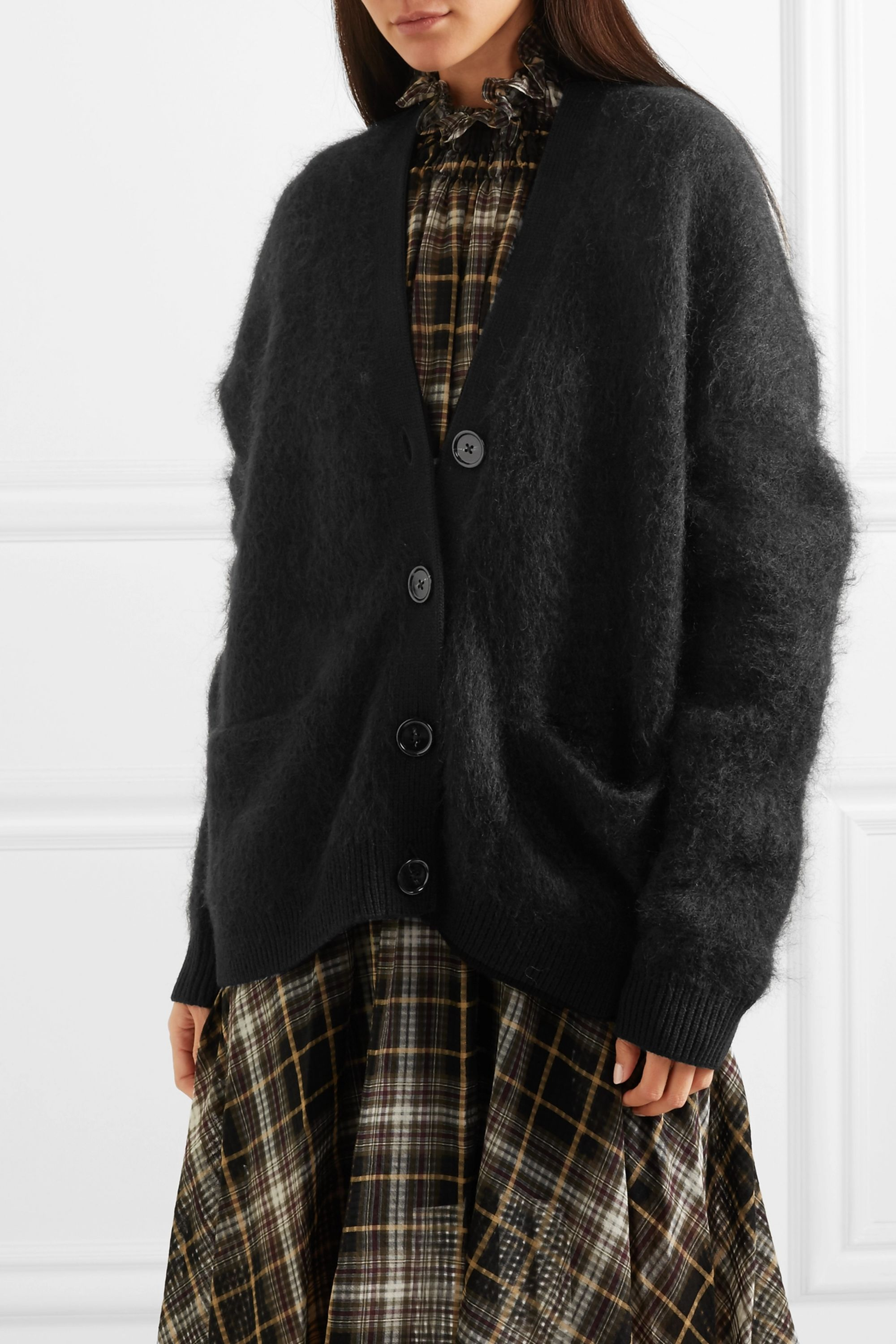 Acne Studios Rives knitted cardigan