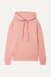 아크네 스튜디오 페리스 '페이스' 로고 패치 후드티 Acne Studios Ferris Face appliqued cotton-jersey hoodie