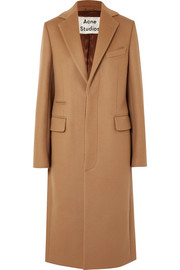 Acne Studios Wool-blend felt coat