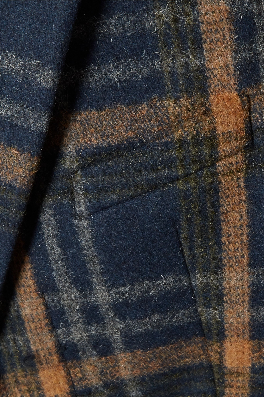 Acne Studios Checked wool-blend coat