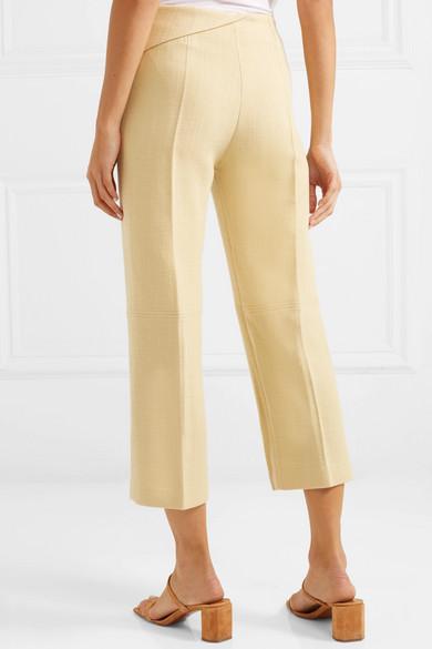 Jacquemus Pants Joao cropped wool-blend straight-leg pants