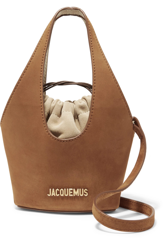 Jacquemus Sac seau en daim Le Cariño