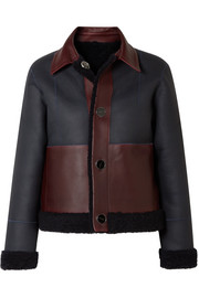 Victoria, Victoria Beckham Reversible shearling jacket