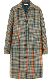 REJINA PYO Cary houndstooth wool-blend coat