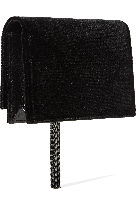 SAINT LAURENT Monogramme Kate medium velvet shoulder bag