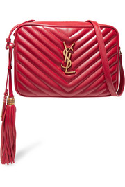 Saint Laurent Monogramme Lou medium quilted leather shoulder bag