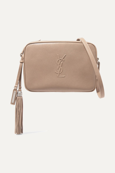 3489719340 Saint Laurent Lou Camera Bag In Smooth Leather In Beige