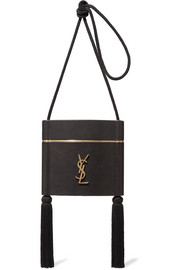Saint Laurent Opyum tasseled leather shoulder bag