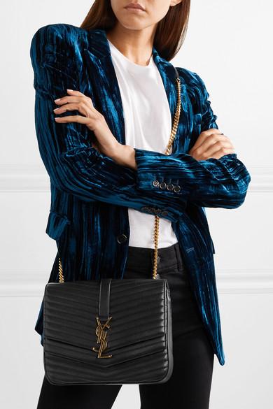 fbd4a144d123 Saint Laurent. Sulpice medium quilted leather shoulder bag