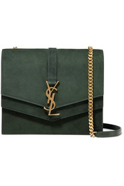 Saint Laurent Sulpice medium suede shoulder bag