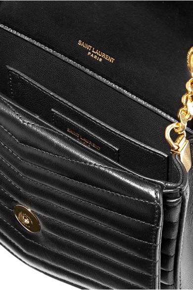 51783d1dc5b5 Saint Laurent. Sulpice small quilted leather shoulder bag.  2