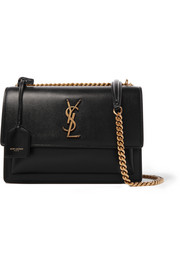 Saint Laurent Sac porté épaule en cuir texturé Sunset Medium