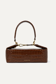 REJINA PYO Olivia croc-effect leather tote