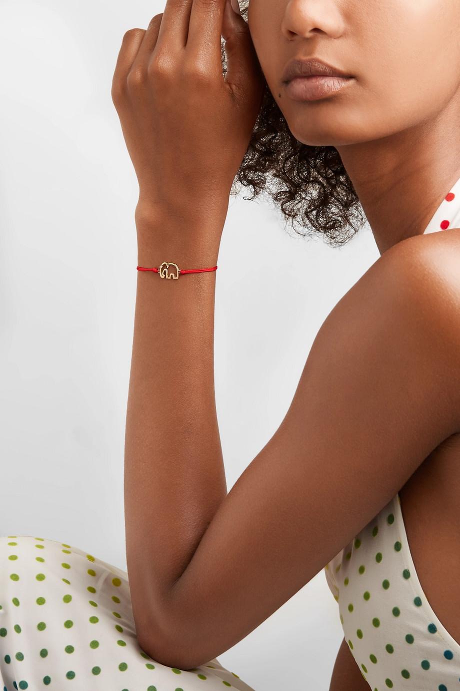 Yvonne Léon 18-karat gold diamond bracelet