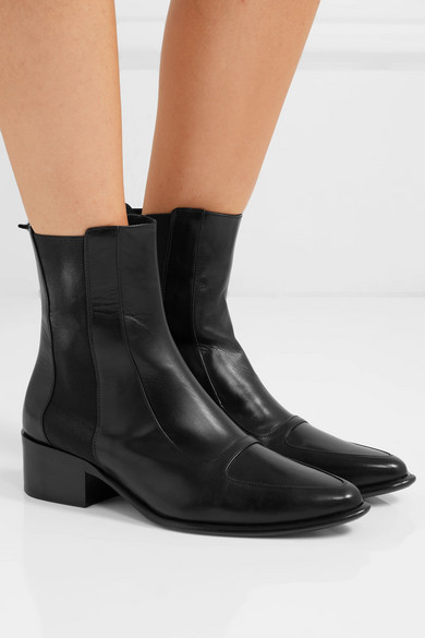 a8e82d2a21461 Loewe | Leather Chelsea boots | NET-A-PORTER.COM