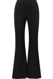 Galvan Satin flared pants
