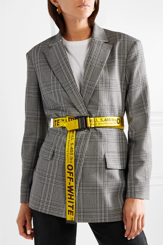 Off-White Canvas-jacquard belt