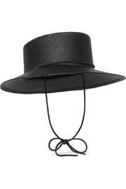 Telescope straw hat