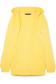 Y/PROJECT Oversized layered cotton-jersey hoodie