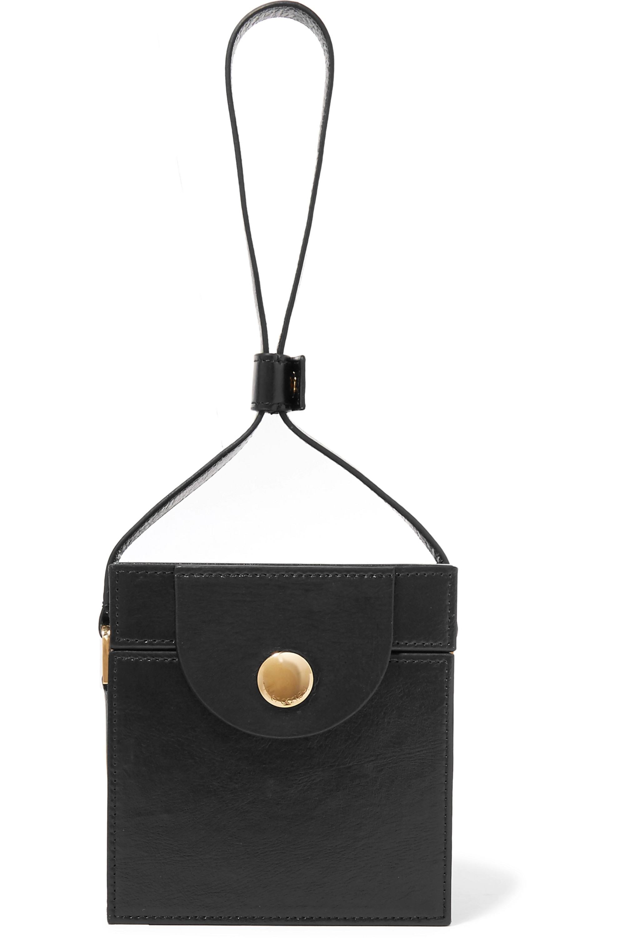 Hillier Bartley Leather clutch