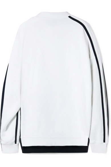 Y / Project Double Layered Sweatshirt - White