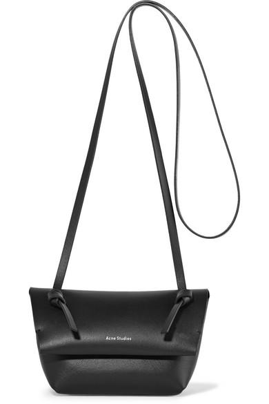 93e1a106f6eff Acne Studios. Crossbody mini leather shoulder bag